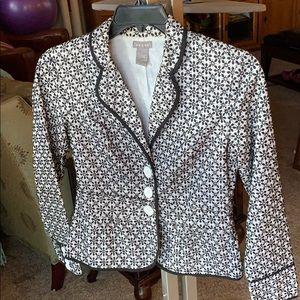 Kenar floral lacy lined jacket sz 6
